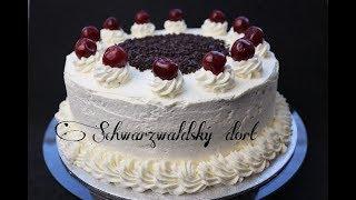 Schwarzwaldský dort   Black forest cake   Dvě v troubě   CZ/SK HD recipe