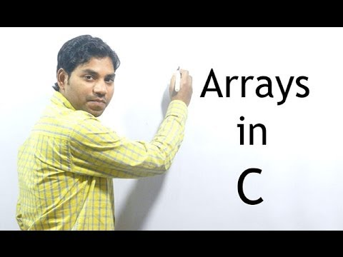 Arrays in C Programming (HINDI/URDU)
