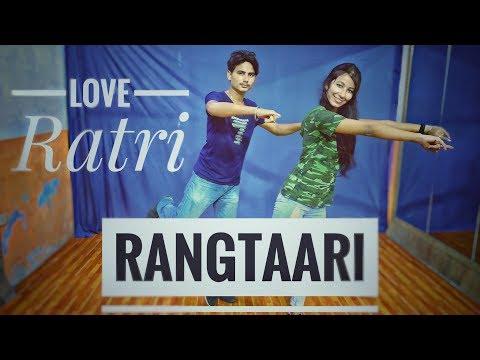 Rangtaari Dance Video   Loveratri   Vicky Sarraf Choreography  Aayush Sharma Yo Yo Honey Singh