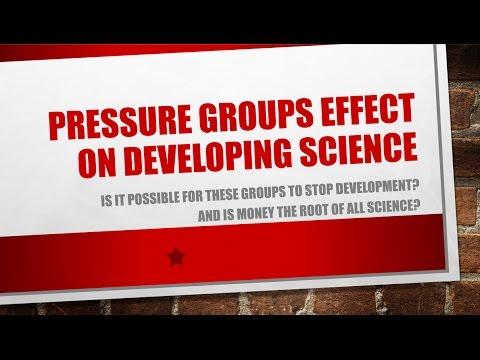 science pressure groups