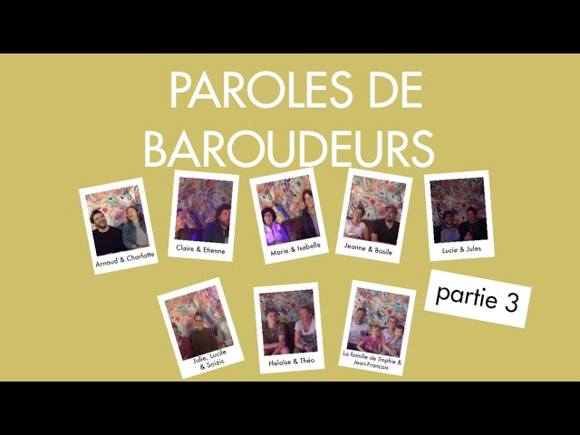 PAROLES DE BAROUDEURS N°3