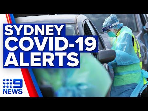 Coronavirus: New health alert for Sydney as mystery cluster grows | 9 News Australia
