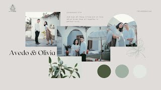 The Wedding Day : Avedo & Olivia (LIVE)