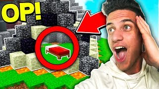 100% UNBREAKABLE BED DEFENSE! (MINECRAFT BED WARS)