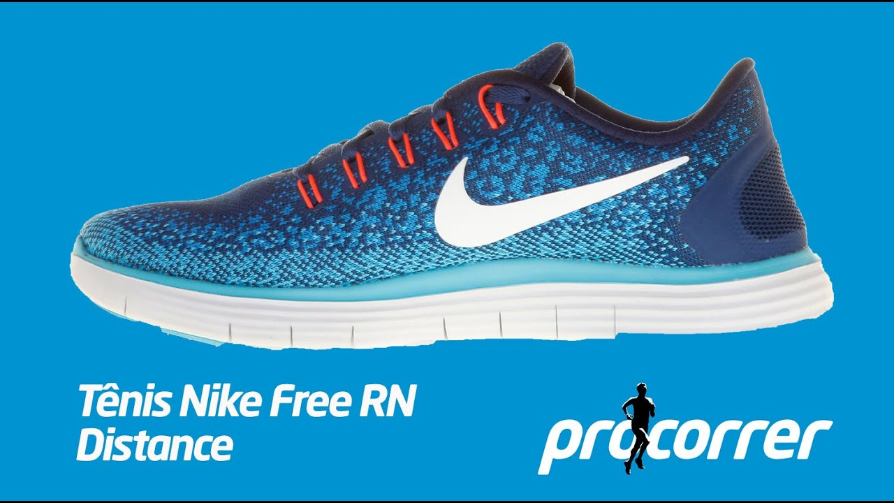 e791d745dafe6 Tênis Nike Free RN Distance na Procorrer - YouTube