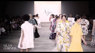Glam Corner - Fashion Week MBFWA Aje