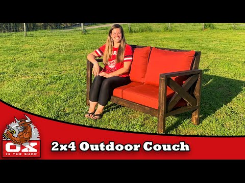 Easy Budget Friendly Outdoor Sofa