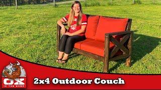 Easy Budget Friendly Outdoor Sofa