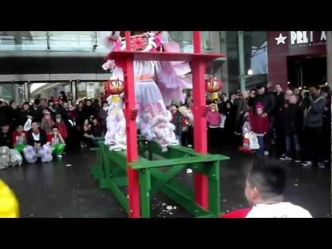 忠信龍獅團Waterside Lion Dance Chinese New Year Celebration at West Quay (Southampton) Part III