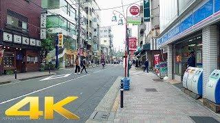 Walking around Yoyogi park station, Tokyo - Long Take【東京・代々木公園駅】 4K