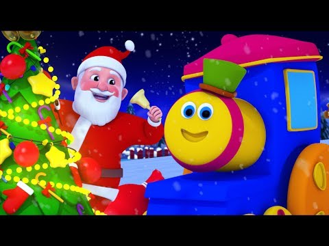 Jingle Bells | Bob The Train | Song For Toddlers | Kindergarten Nursery Rhyme For Kids by Kids Tv