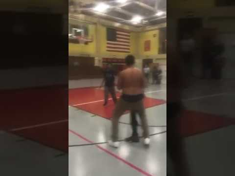 Fighting at South Division High School