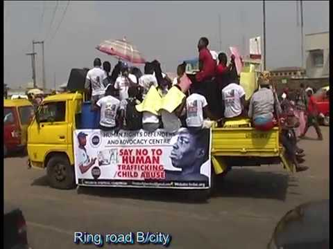 Antihuman trafficking campaign in Edo state Benin city