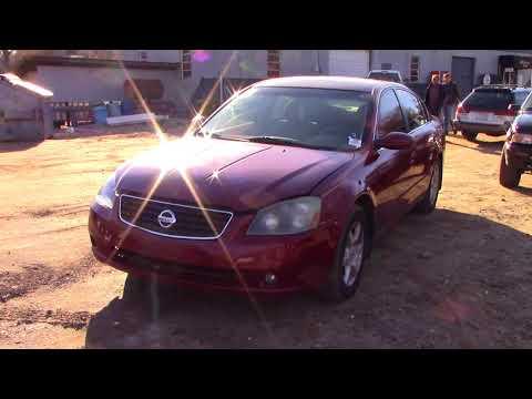 !SCRAPYARD SPECIAL! 2005 Nissan Altima 2.5