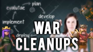 Clash of Clans | Cleanup Attacks in Clan Wars | Episode 4