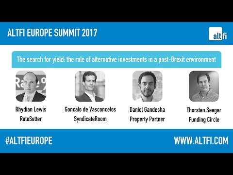 The search for yield  the role of alternative investments in a post‐Brexit environment