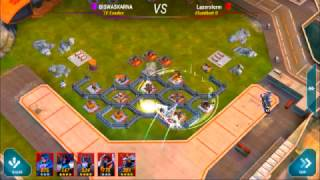 Transformers Earth wars:Good Base Layout For HQ-12