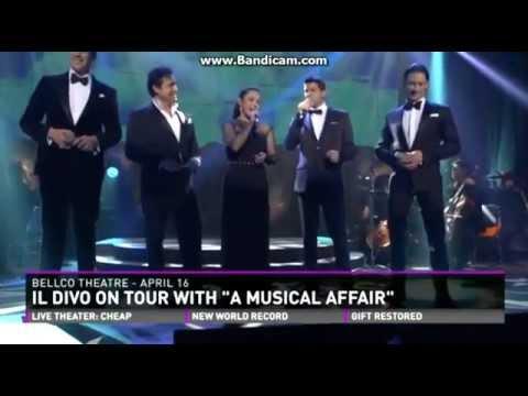 IL DIVO & Lea Salonga Interview 9News 10-4-2014