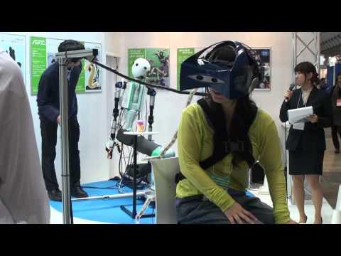 2011国際ロボット展 - Telexistence ロボット遠隔操縦