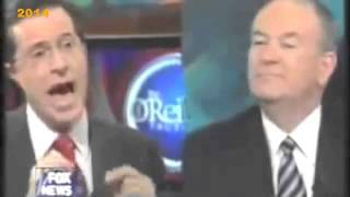 Stephen Colbert Pissed Off Bill OReilly on OReillys show! Unedited Version HD