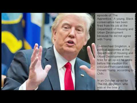 Donald Trump, United States Department of Housing and Urban Development, Ben Carson