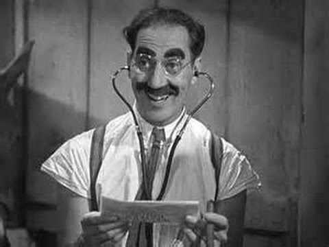 Groucho Marx - A Day at the Races - Dr. Hackenbush in HD