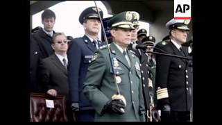 Military ceremony for the swearing in of chairman of Joint Chiefs of staff