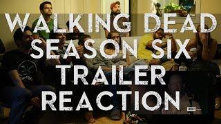 Walking Dead Season 6 - Comic-Con Trailer - Group Reaction