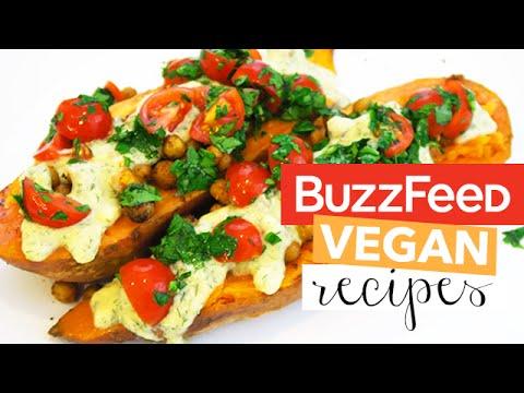 BuzzFeed Recipes Tested - 3 Healthy Vegan Buzzfeed Dinner Recipes