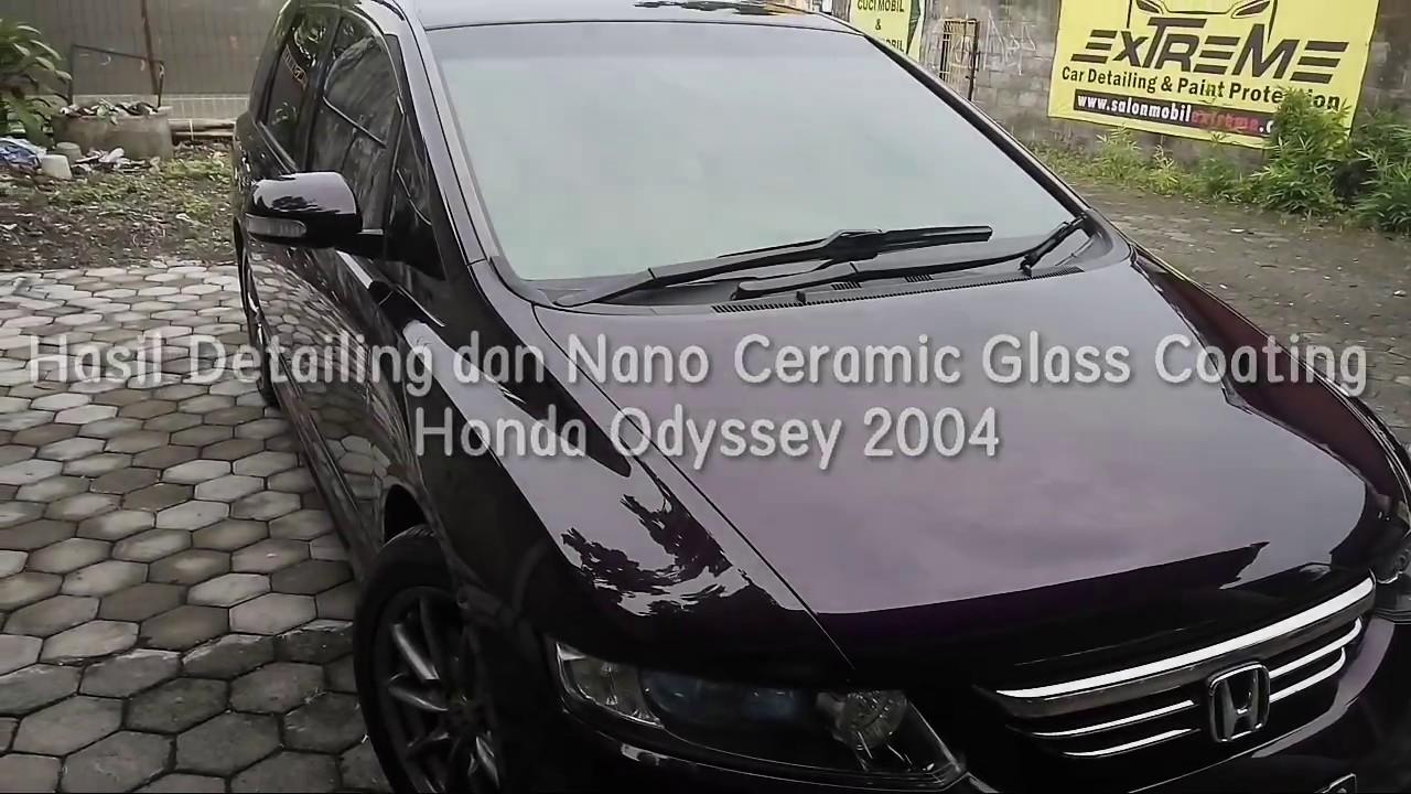 Wow Hasil Nano Ceramic Coating Di Honda Odyssey YouTube