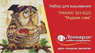Набор для вышивания ''PANNA'' БН-5023 ''Мудрая сова''