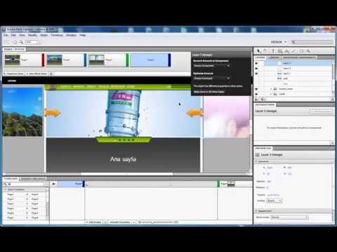 Flash Catalyst CS5: Flash Slider Ve Buton Yapımı