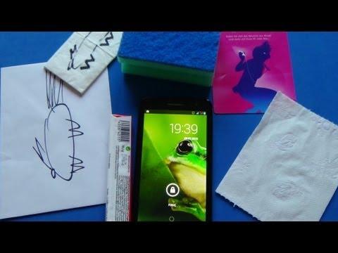 Alcatel One Touch Scribe HD - Die Größe im Alltag
