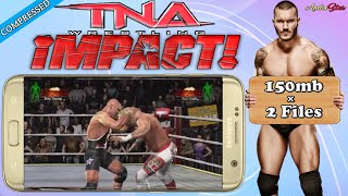 TNA Impact Cross The Line Highly Compressed For PSP Android|Best psp settings|Save Game|Hd gameplay