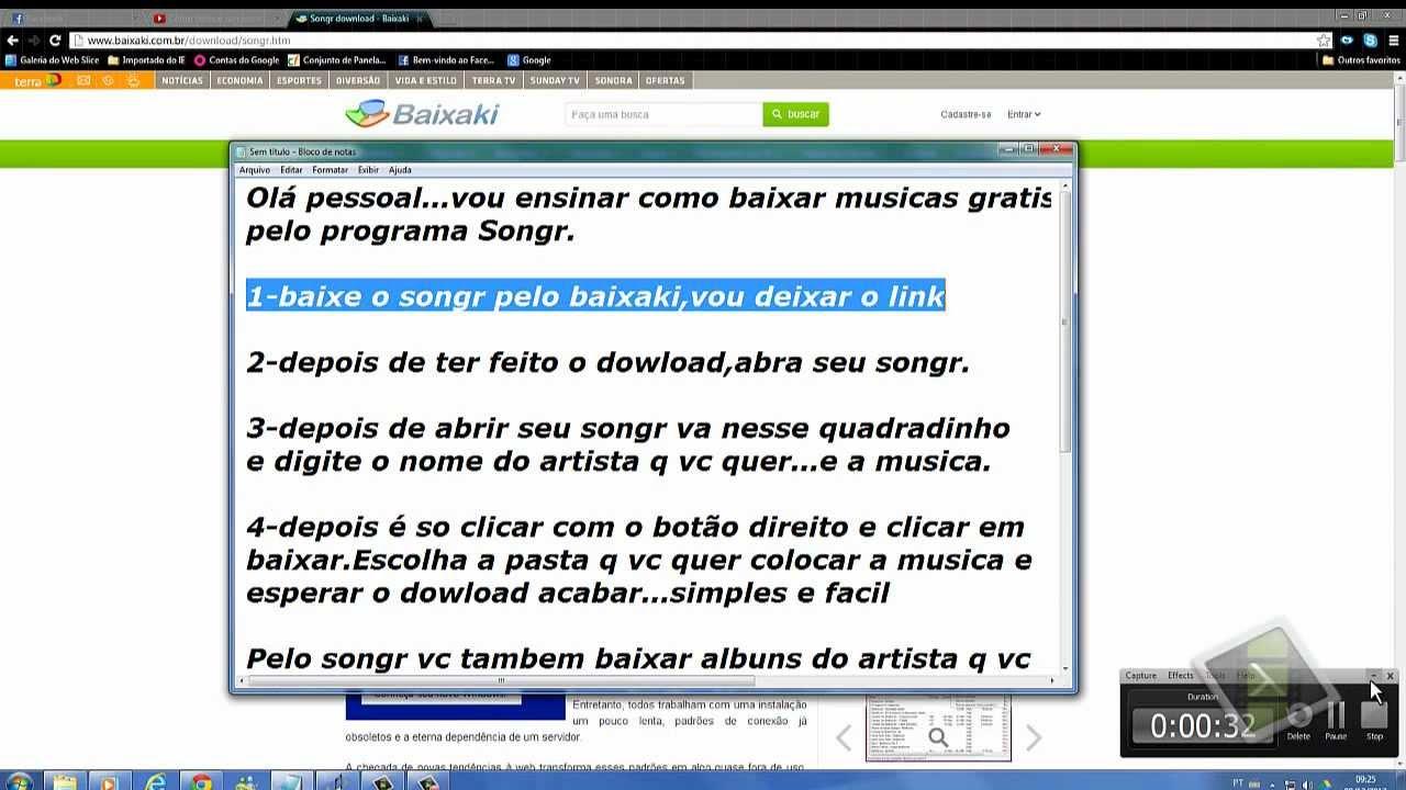 BAIXAKI NO BAIXAR O SONGR PROGRAMA
