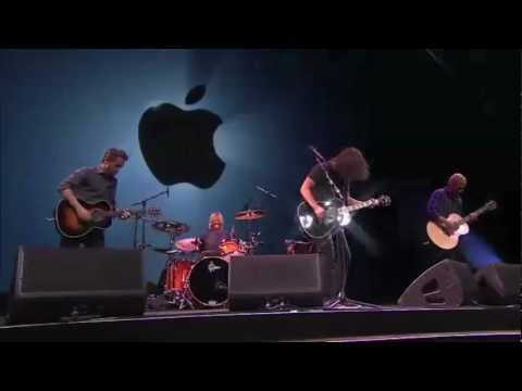Foo Fighters perform at Apple Iphone 5 Launch Event. [Full Acoustic Concert - HD]