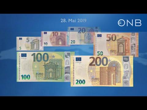 Die Neuen 100 Und 200 Euro Banknoten Youtube