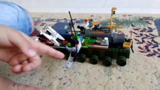 Бойові машини з лего