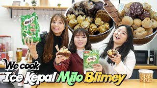 We Make Ice Kepal Milo