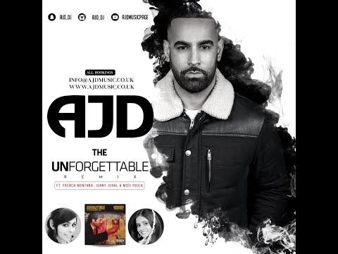 AJD || THE UNFORGETTABLE REMIX (ft. Jenny Johal, Miss Pooja, Kumar Sanu & Mark Morrison)