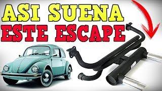 Así Suena Este Escape Header con Silenciador  De Tocho Morocho Tutoriales.