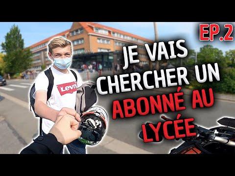 Download JE VAIS CHERCHER UN ABONNÉ AU LYCÉE EN MT09 ! 😈 + GROSSE CHUTE EN SKATE 🤣 EPISODE #2