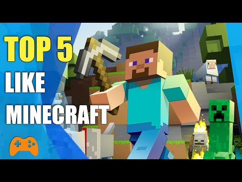 Top 5 Games Like Minecraft | Similar Games To Minecraft