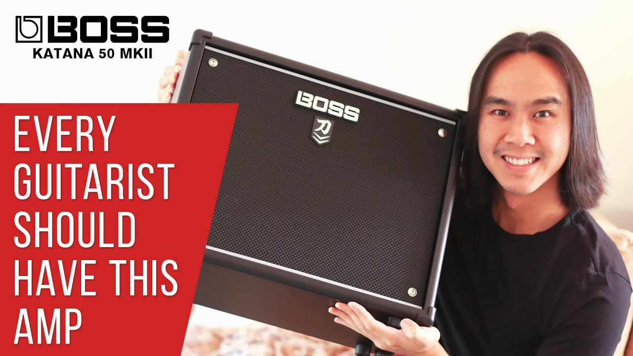 THE HYPE IS REAL 🎸 Boss Katana 50 MKII In-Depth Review & Demonstration