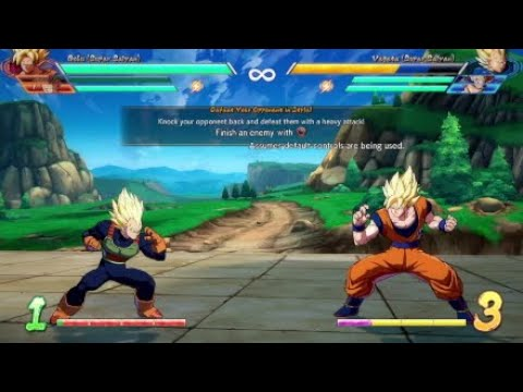 DBFZ Mechanics : Going directly into your assist's super
