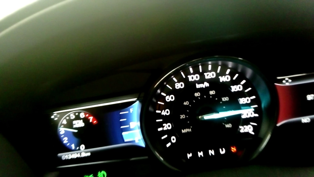 Ford Explorer Limited >> Ford Explorer 2017 2.3 Ecoboost Limited Acceleration 0-195 km/h (Top Speed Limited) - YouTube
