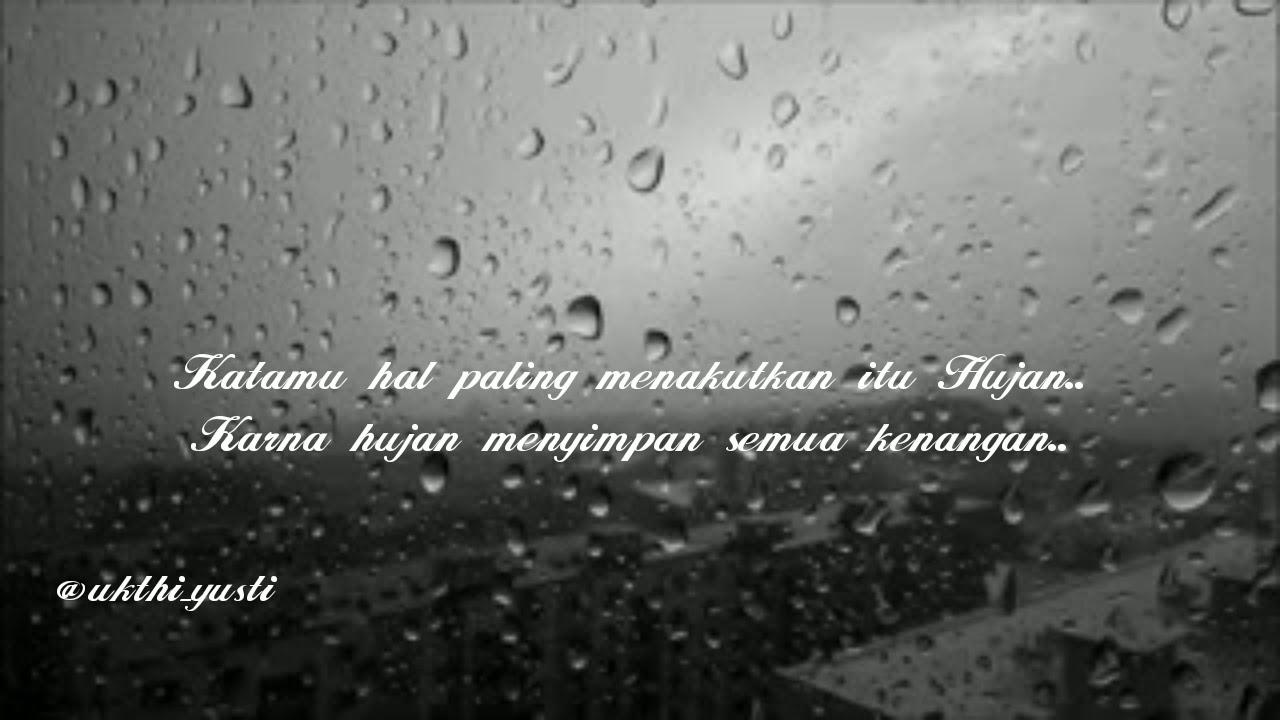 Kata Kata Mutiara Hujan Rindu