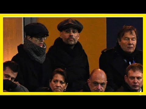 Manchester City boss Pep Guardiola takes in Mansfield vs Cardiff