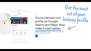 How can I get the most out of my Business Profile on Google? | Quick Help