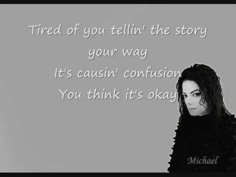 Michael & Janet Jackson Scream Lyrics